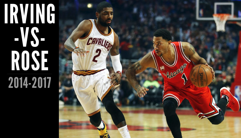 1f5c6f98d2e5 Derrick Rose s Best Games   Highlights vs Kyrie Irving - Ballislife.com