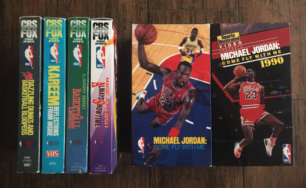 37fc8ce024a526 The History Of Michael Jordan s  Come Fly With Me  VHS Tape ...
