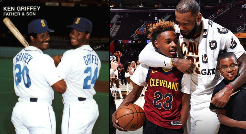 d0fb4fe789 LeBron On The Thought Of Him & His Son Playing On The Same NBA Team ...