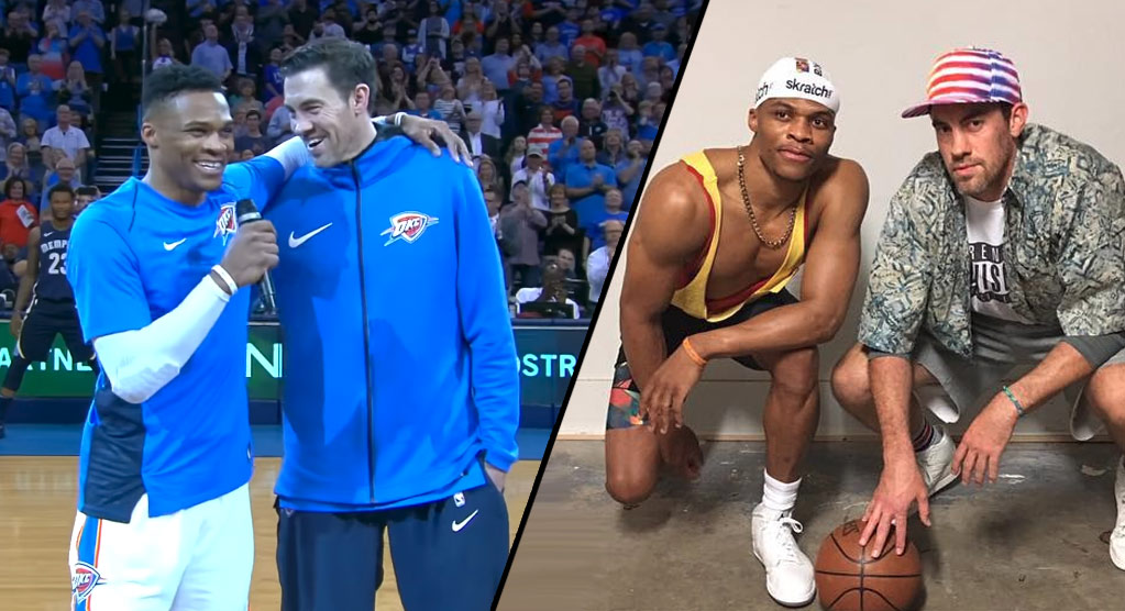 5894bc3960dc Russell Westbrook Pays Tribute To His Brother   Mentor Nick Collison ...
