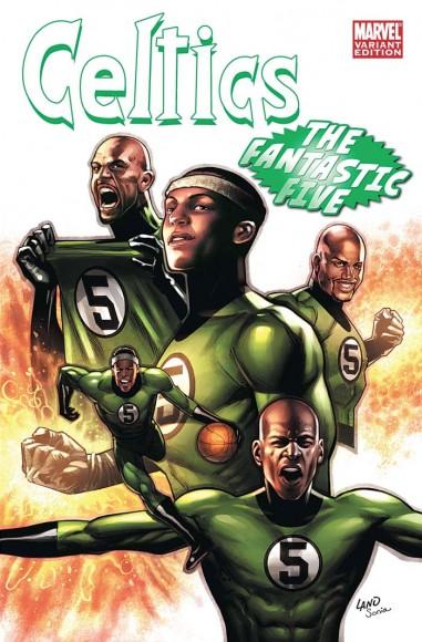 ESPN & Marvel's NBA Comic Covers - Ballislife com