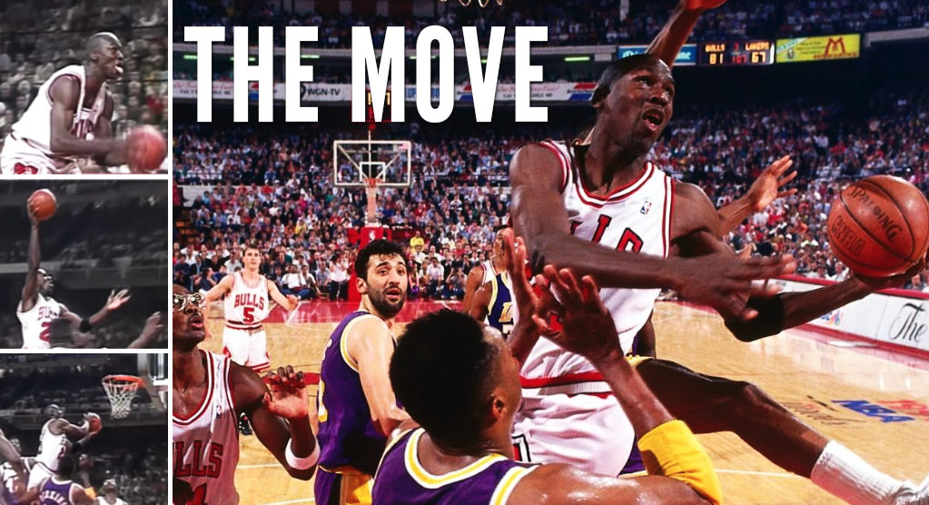"""best service 14003 20e01 (1991) Michael Jordan s """"Spectacular"""" Switching Hands Layup Vs The Lakers"""