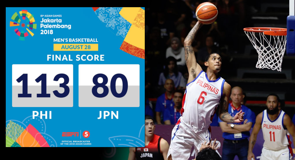 b7d3fc6bfcd Jordan Clarkson Gets 1st Win With Philippine Team, Dominates 8-Man Japan