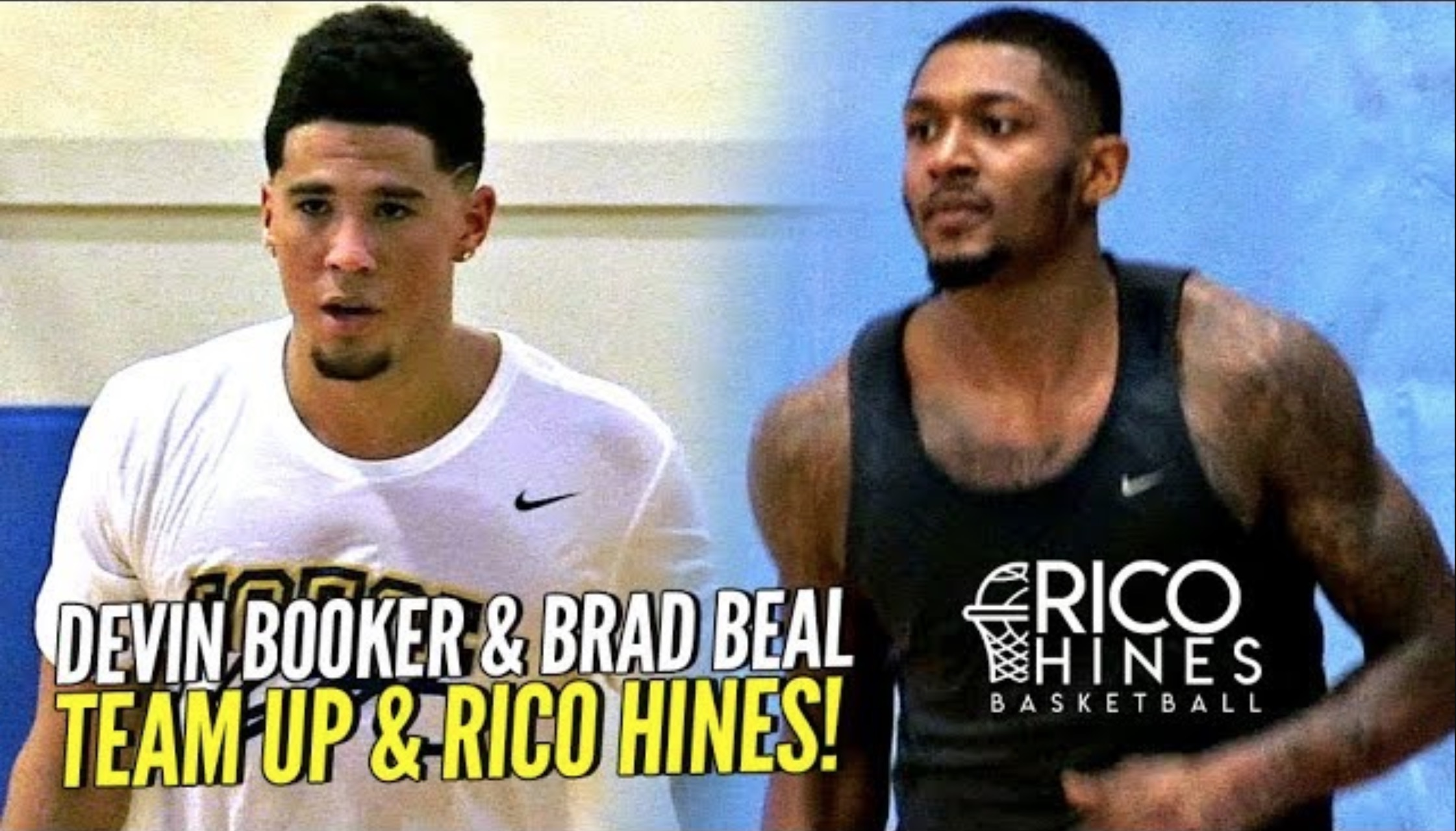 Devin Booker & Bradley Beal Rico Hines Workout