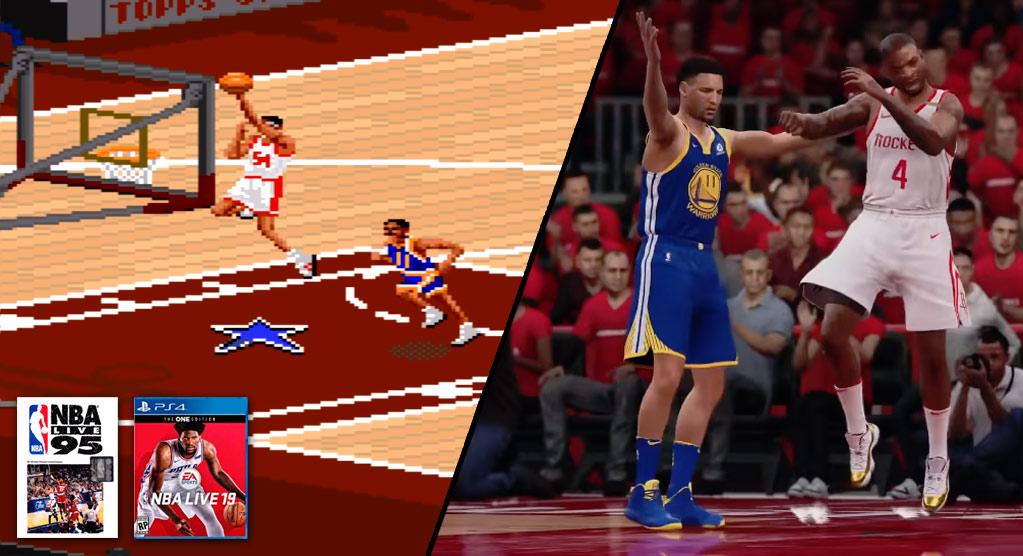 569978aeb1b3 The Evolution of LeBron James In NBA2K   NBA Live (2004-2016 ...
