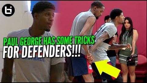 Paul George Makes It Tricky For Defenders To Guard Him! Ballislife Summer  Highlights ... e8aa4bea4