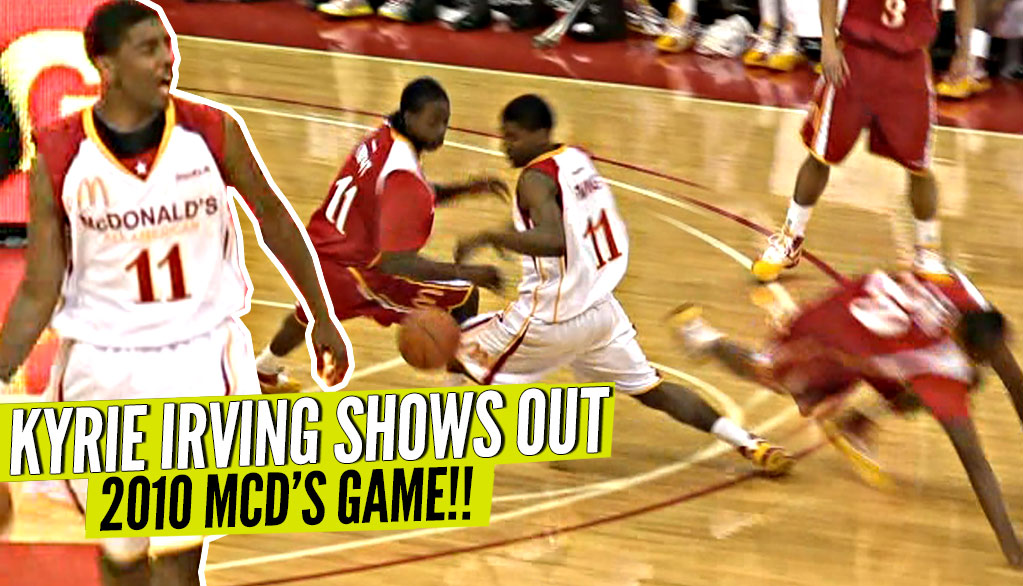 64d136947111 Young Kyrie Irving BREAKING ANKLES at 2010 McDonald s All American Game!