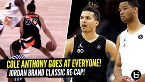 b52d2a13b0c2 Zion Williamson VS Cole Anthony! Adidas Nations Game Was Dumb Loaded! -  Ballislife.com