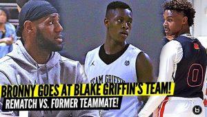 4e3ed68b96 LeBron On The Thought Of Him & His Son Playing On The Same NBA Team -  Ballislife.com