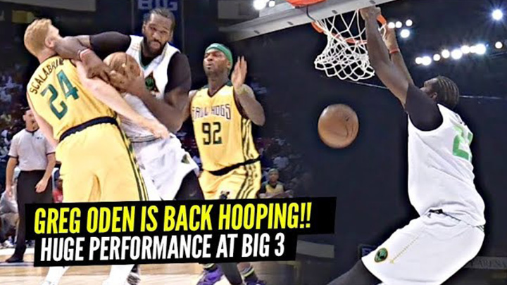 GREG ODEN IS BACK & Can Still PLAY!! Goes AT IT w/ White Mamba at Big 3!!