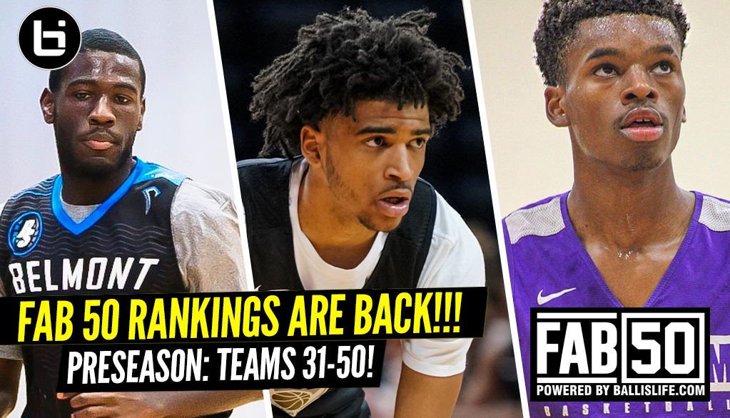 2019 Fab 50 Preseason Rankings No 31-50