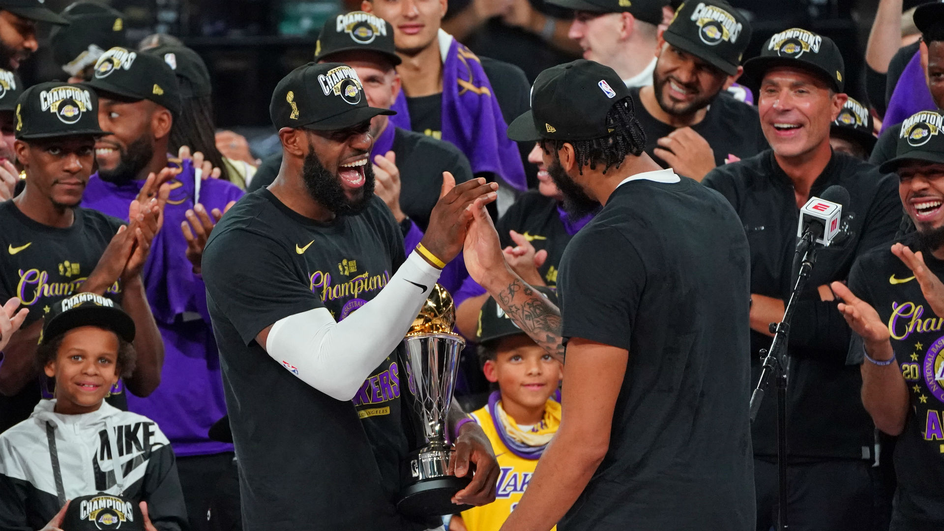 It's In The Game: Lakers Win The 2020 NBA Finals ...