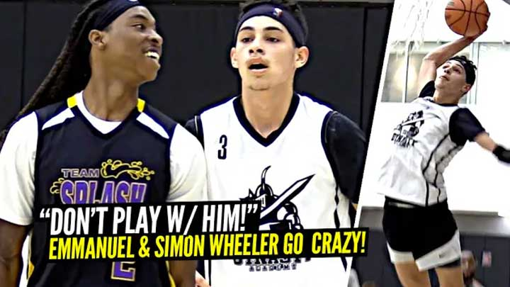 """STOP PLAYIN W/ HIM!"" Emmanuel Maldonado & Simon Wheeler Making Defenders Look SILLY!"